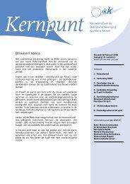 Februari 2006 - Overijsselse vereniging voor kleine kernen