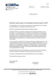 Årsredovisning Jämtlands läns landsting. Revisorernas missiv ... - jll.se