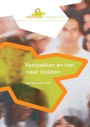 Jaarverslag 2010 - Veiligheidshuis Maastricht