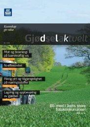 Gjødselaktuelt 1-2012 - Yara Norge