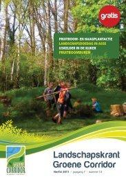 Landschapskrant - Regionaal Landschap Groene Corridor (RLGC)
