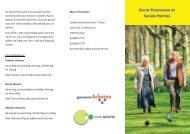 Folder dienst pensioenen en sociale premies - OCMW Schoten