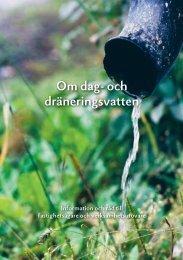 Om dag- och dräneringsvatten - Gästrike Vatten AB