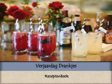 Download hier je Verjaardag Drankjes Receptenboek