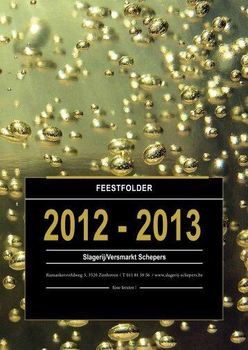 FEESTFoldEr - Slagerij Traiteur Schepers Zonhoven