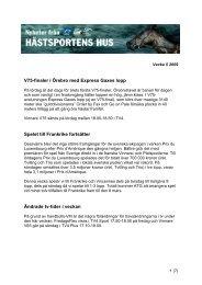 V75-finaler i Örebro med Express Gaxes lopp Spelet till Frankrike ...