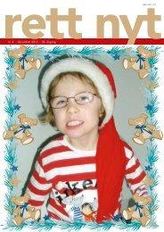 nr. 4 · december 2012 · 24. årgang - Landsforeningen Rett Syndrom