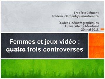 trois controverses - Université Laval