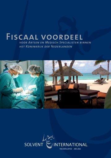 Fiscaal voordeel - Solvent International
