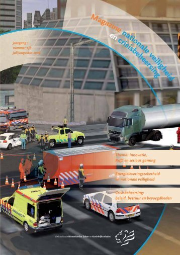 """Magazine Nationale Veiligheid en ... - Nazorg Volendam"