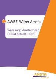 AWBZ-Wijzer Amsta