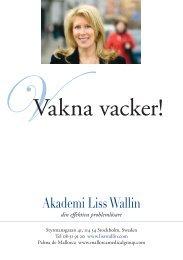 Behandlingsmeny - Akademi Liss Wallin
