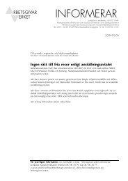Arbetsgivarverket informerar 2004-02-06 (PDF-dokument, 66 kB)