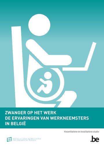 Zwanger op het werk de ervaringen van ... - igvm - Belgium
