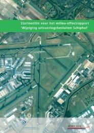 Startnotitie voor het milieu-effectrapport 'Wijziging ...