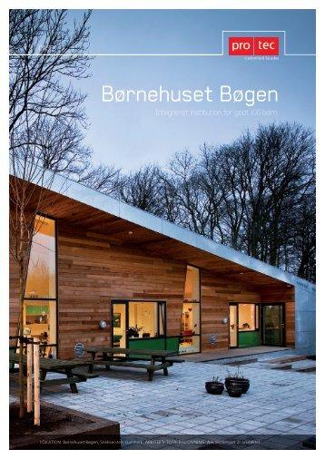 Børnehuset Bøgen - PRO TEC - Facader