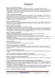 Règlement du concours « #JESUISESSEC » Article 1 - Organisateur ...