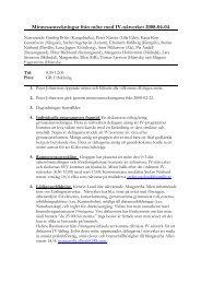 Minnesanteckningar från möte med IV-nätverket 2008-04-04 - GR