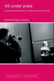 Pernilla Petrelius Karlberg - Handelshögskolan i Stockholm