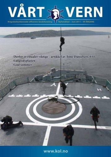 Medlemsblad_files/VV juni 2011.pdf - Krigsskoleutdannede ...