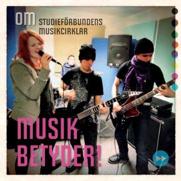 Musik betyder - Folkbildningsförbundet
