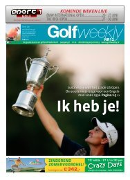 Golf Weekly 2013 editie 12