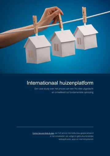 Internationaal huizenplatform - Forion Secure Web & App