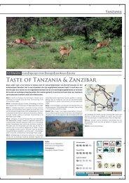 Taste of Tanzania & Zanzibar - Terre d'Afrique