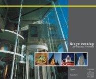Stage verslag - Jeroen Evers