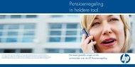 Pensioenregeling in heldere taal. - Stichting Pensioenfonds Hewlett ...