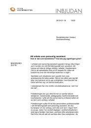 Att arbeta som personlig assistent - Region Västerbotten