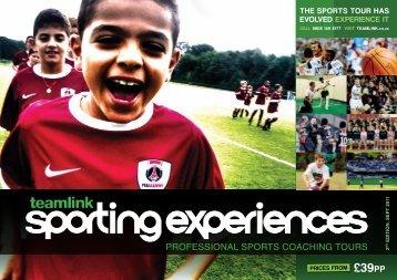 Sporting Experiences Volume Two - Teamlink