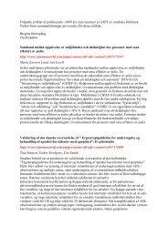 samband mellan upplevelse av miljöhinder och delaktighet ... - FSA