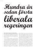 Vi firar liberal regering 100 år - ida.nu - Page 6