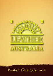 Download PDF - Colonial Leather