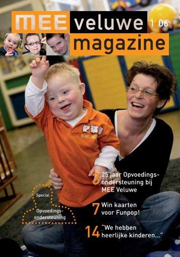 25 jaar Opvoedings- ondersteuning bij MEE Veluwe Win kaarten ...