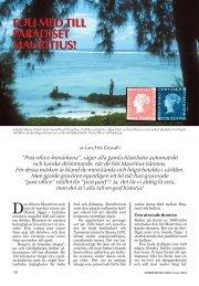 följ med till paradiset mauritius! - Nordisk Filateli
