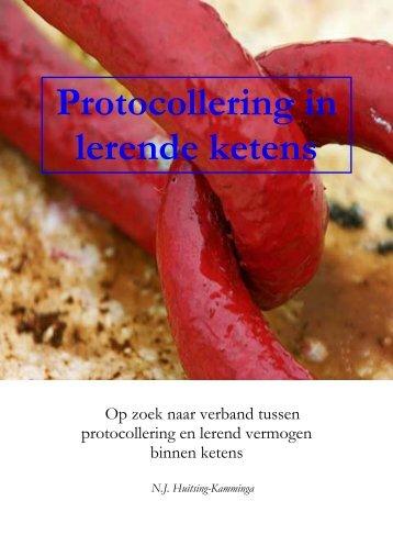Protocollering in lerende ketens - Ketens & Netwerken