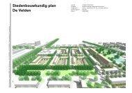 Stedenbouwkundig plan De Velden - De Nijl Architecten