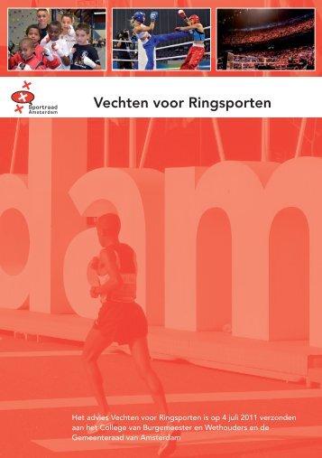 Vechten voor Ringsporten - Sportraad Amsterdam