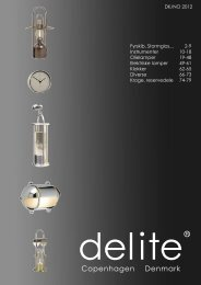 Delite 2012 catalogue - Nautisk Handel