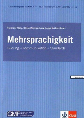 Europäische Forschung zur Interkomprehension - Redinter