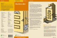 byggbeskrivning montera dörr - Bygghemma