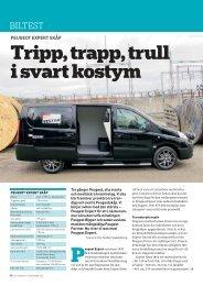 Tripp, trapp, trull i svart kostym - Peugeot