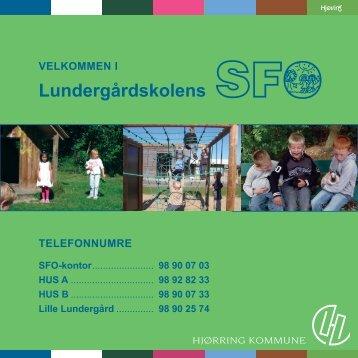 Lundergaardskolens SFOer - Lundergårdskolen