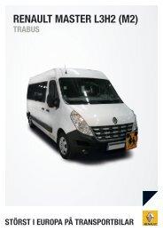 Master-L3H2M1-trabus BACKARYD - Renault