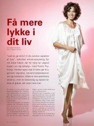Få mere lykke i dit liv - Sarah Zobel Kølpin