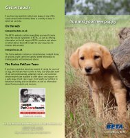 Get in touch - Purina Beta