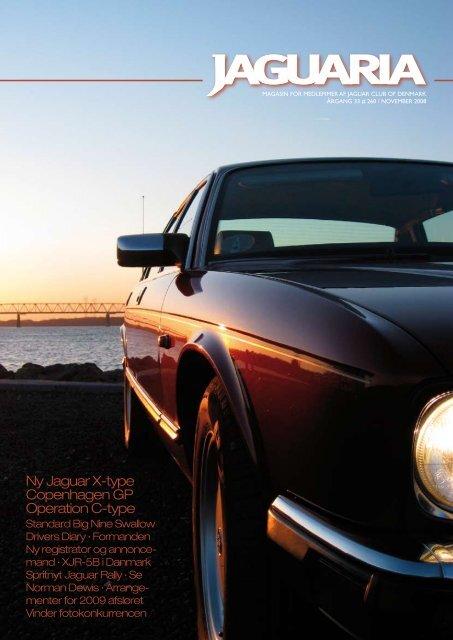 Ny Jaguar X-type Copenhagen GP Operation C-type