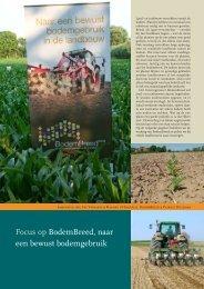 Focus op BodemBreed, naar een bewust bodemgebruik - Prosensols